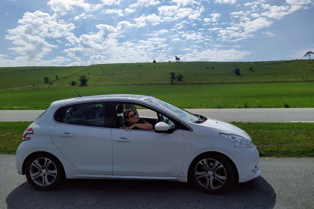 Billig biluthyrning av Peugeot 208 i närheten av  Tannefors.