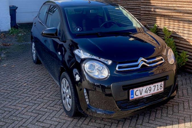 Billig billeje af Citroën C1 med Bluetooth nær 2500 København.