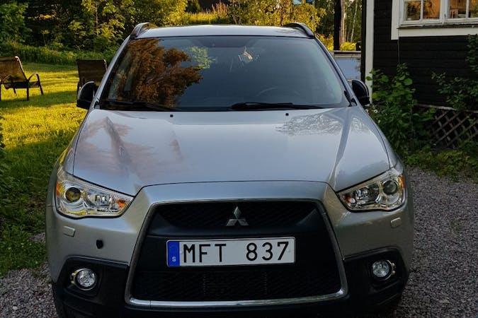 Billig biluthyrning av Mitsubishi ASX med Dragkrok i närheten av 112 23 Kungsholmen.