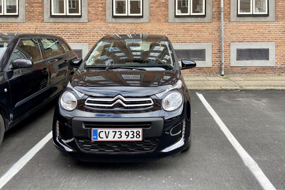 Billig billeje af Citroën C1 nær 2200 København.