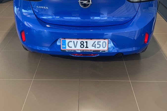 Billig billeje af Opel Corsa nær 2200 København.