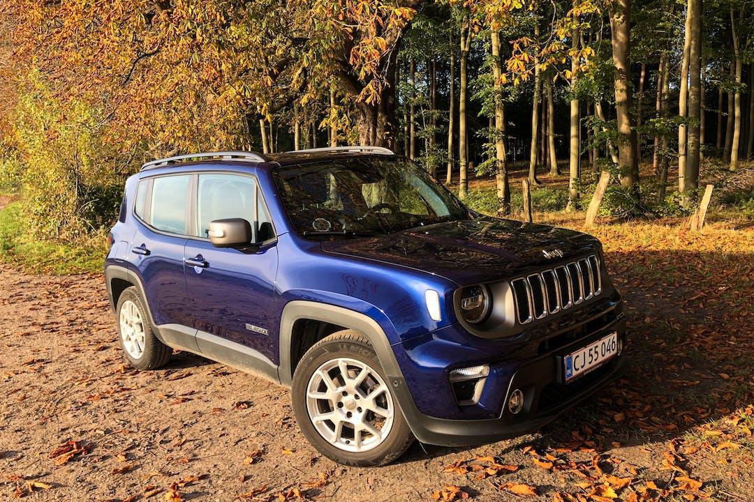 Billig billeje af Jeep Renegade nær 5600 Faaborg.