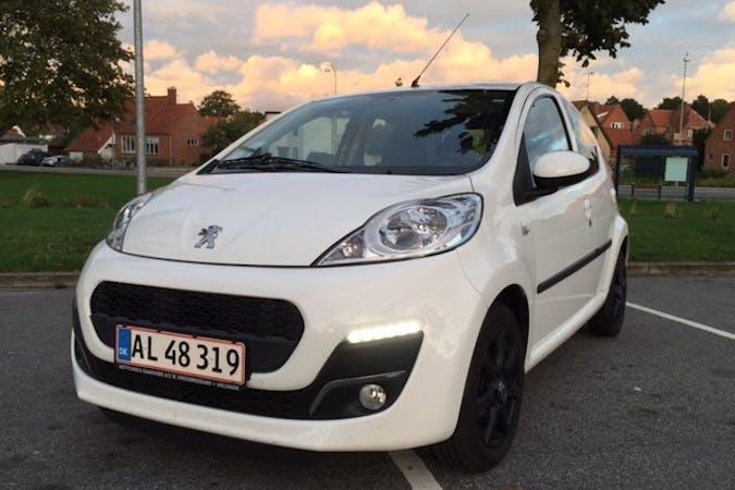 Billig billeje af Peugeot 107 nær 3450 Lillerød.