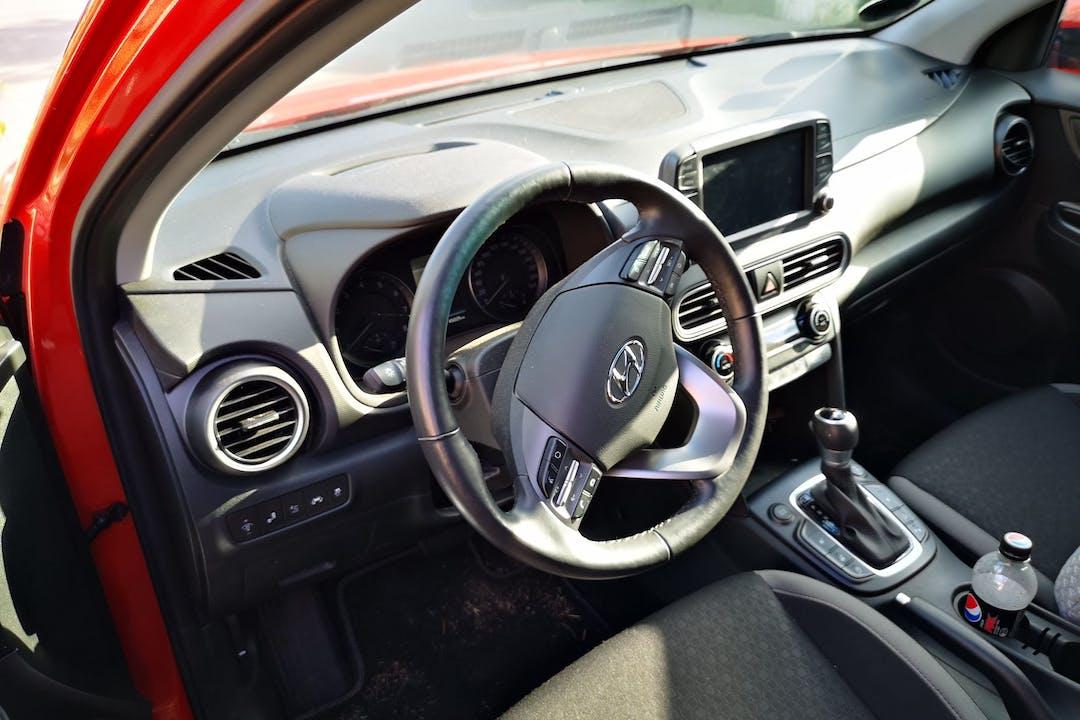 Billig billeje af Hyundai Kona med Anhængertræk nær 3250 Gilleleje.