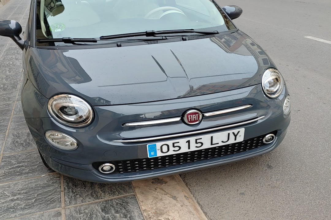 Alquiler barato de Fiat 500 cerca de 13300 Valdepeñas.