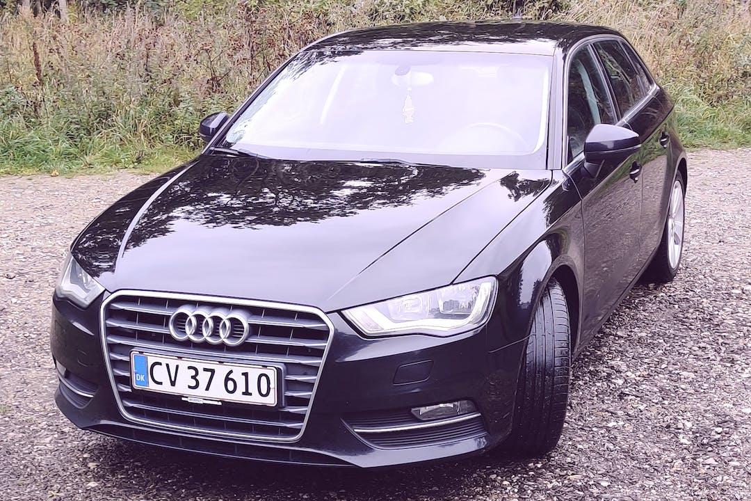 Billig billeje af Audi A3 med GPS nær 8230 Aarhus.
