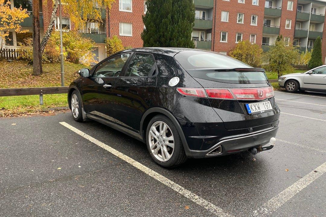 Billig biluthyrning av Honda Civic med GPS i närheten av 148 30 Nynäshamn N.