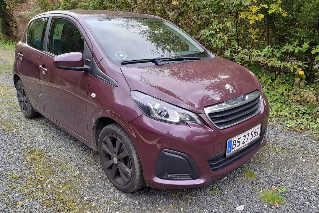 Billig billeje af Peugeot 108 nær 2730 Herlev.