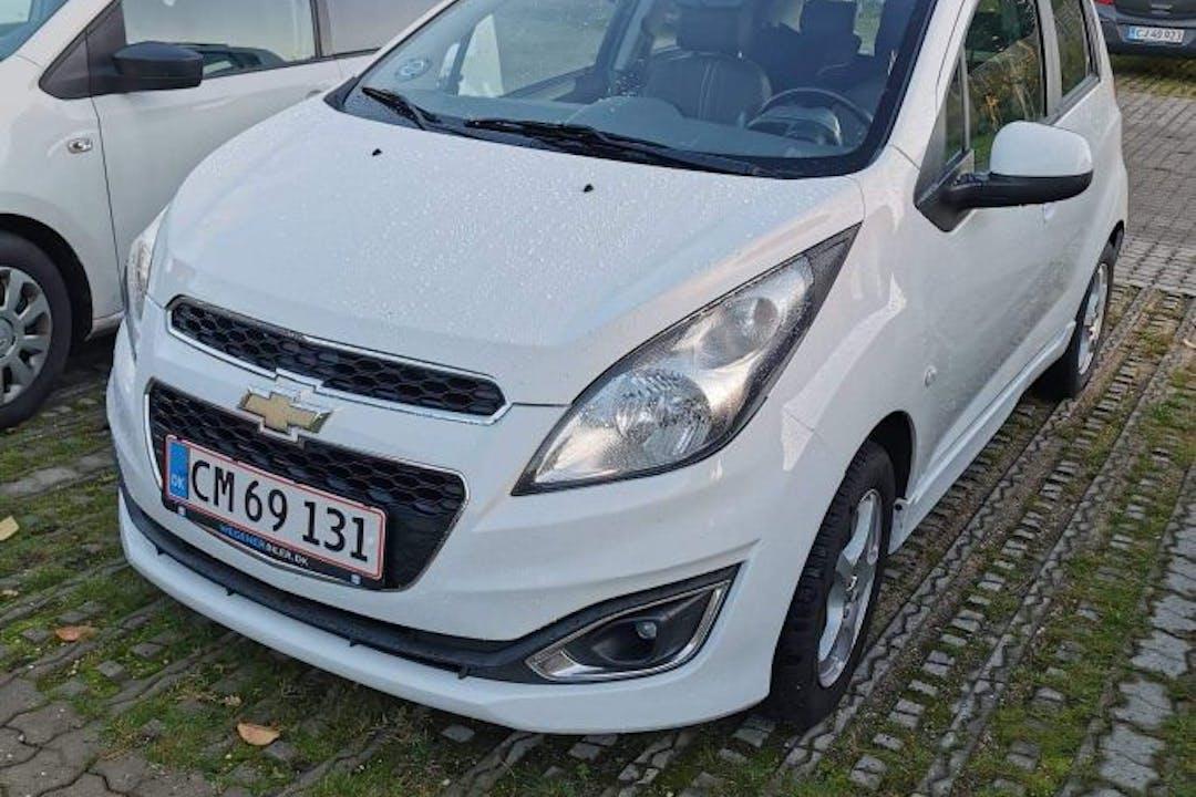 Billig billeje af Chevrolet Spark nær 8600 Silkeborg.