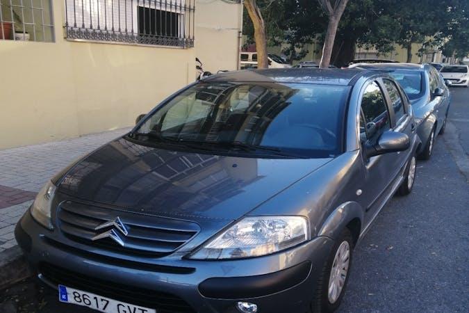 Alquiler barato de Citroën C3 cerca de 29008 Málaga.