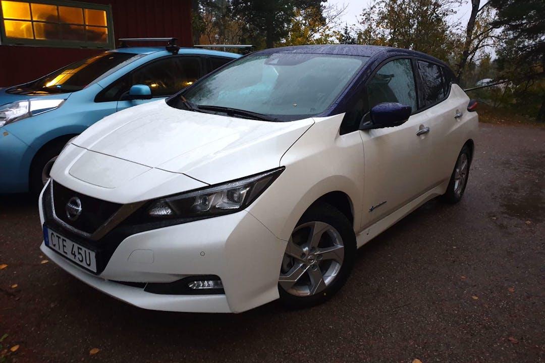 Billig biluthyrning av Nissan LEAF i närheten av 150 21 Södertälje SV.