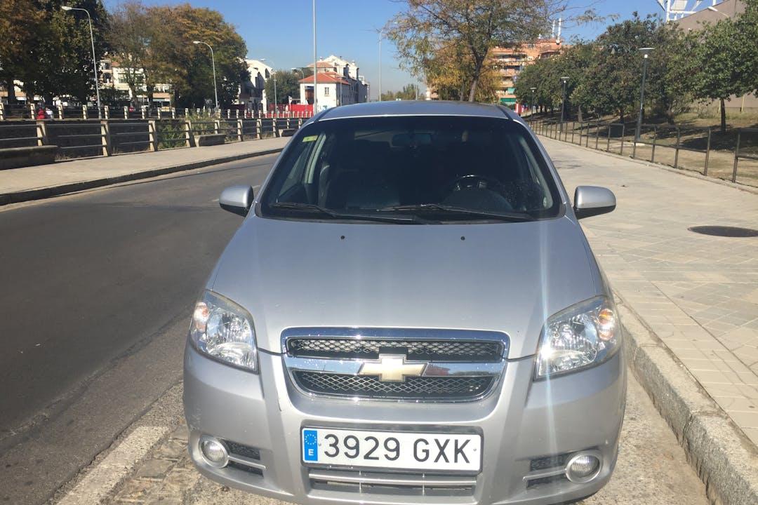 Alquiler barato de Chevrolet-Gm Aveo con equipamiento GPS cerca de 18006 Granada.