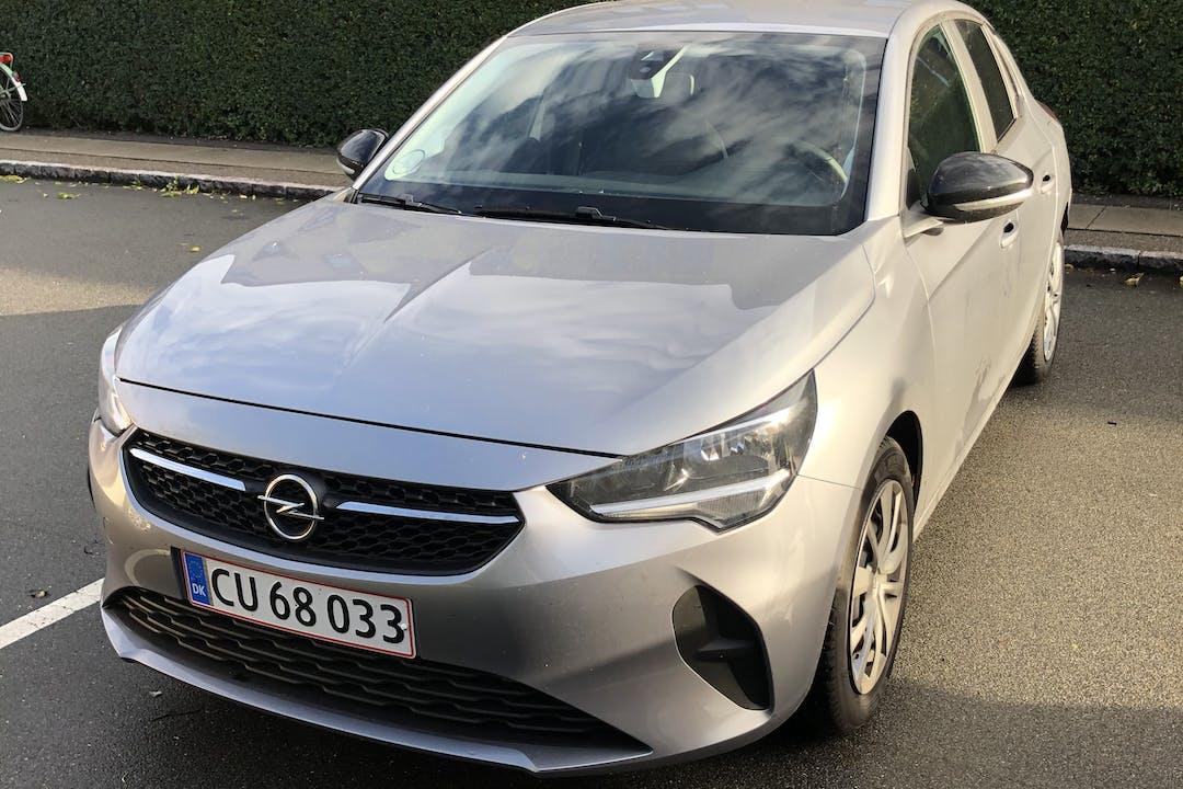 Billig billeje af Opel Corsa nær 2450 København.