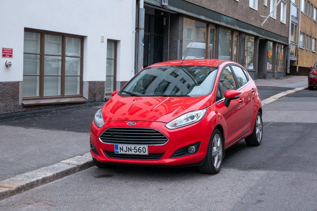Ford Fiestan lalpa vuokraus lähellä 00510 Helsinki.