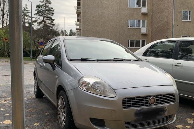 Fiat Grande Punton lalpa vuokraus lähellä 00280 Helsinki.