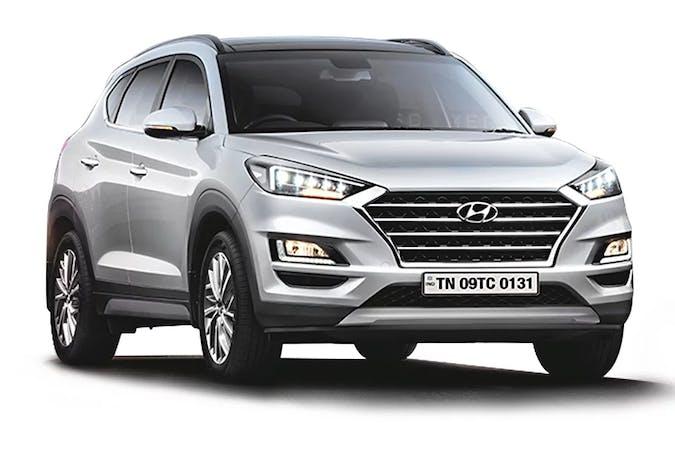 Billig billeje af Hyundai Tucson med GPS nær 8000 Aarhus.
