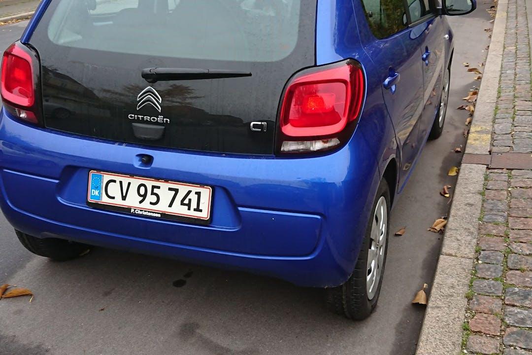 Billig billeje af Citroën C1 nær 2000 Frederiksberg.