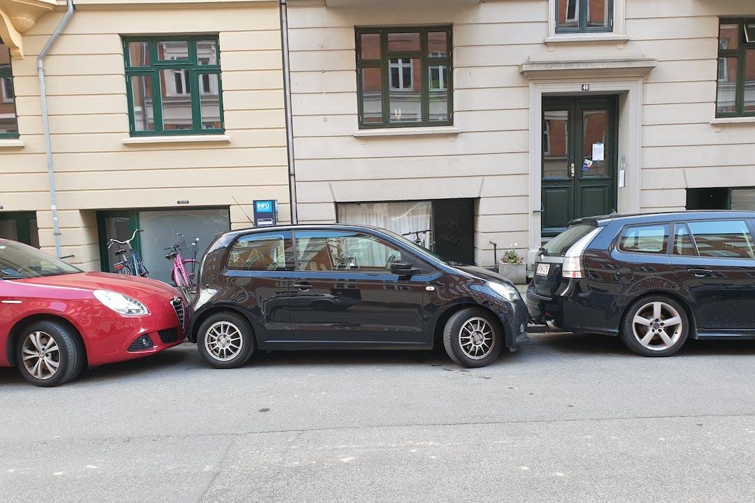Billig billeje af Seat Mii nær 2100 København.