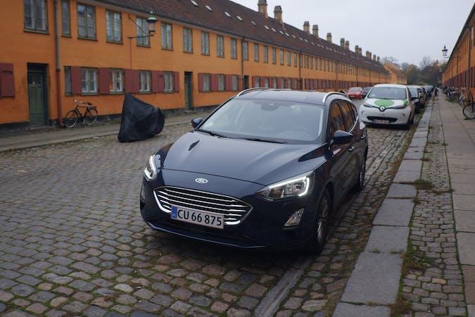 Billig billeje af Ford Focus nær 1325 København.