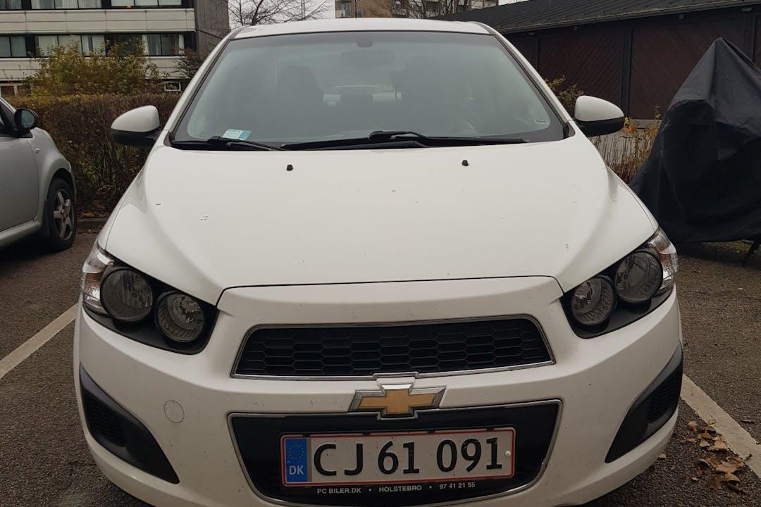 Billig billeje af Chevrolet Aveo med Isofix beslag nær 8000 Aarhus.