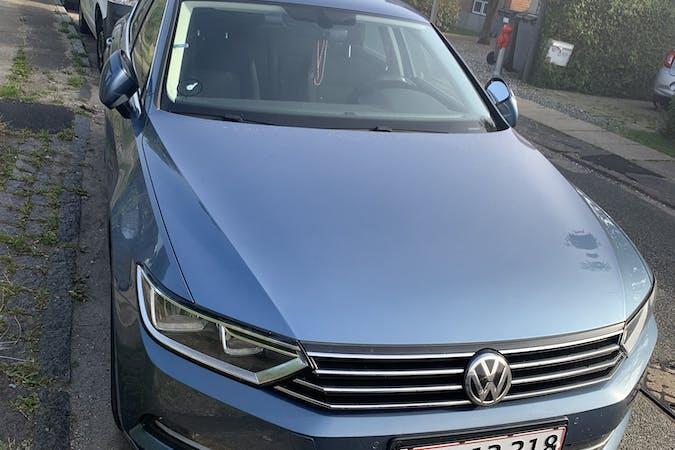 Billig billeje af Volkswagen Passat CC nær 2700 København.