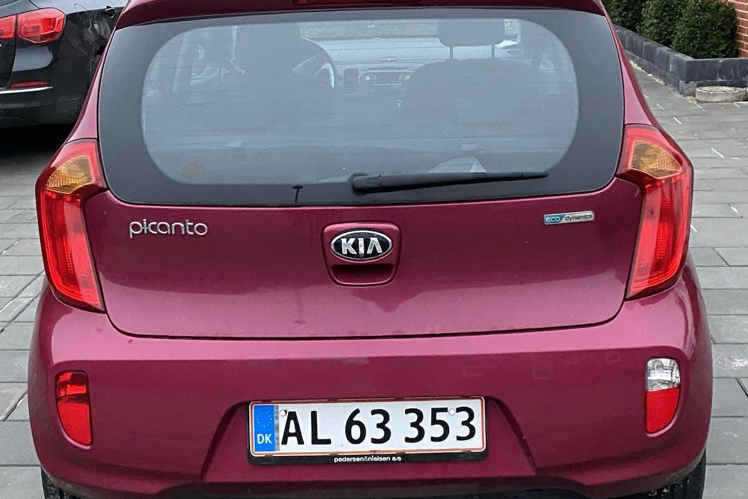 Billig billeje af Kia Picanto med Isofix beslag nær 8961 Allingåbro.