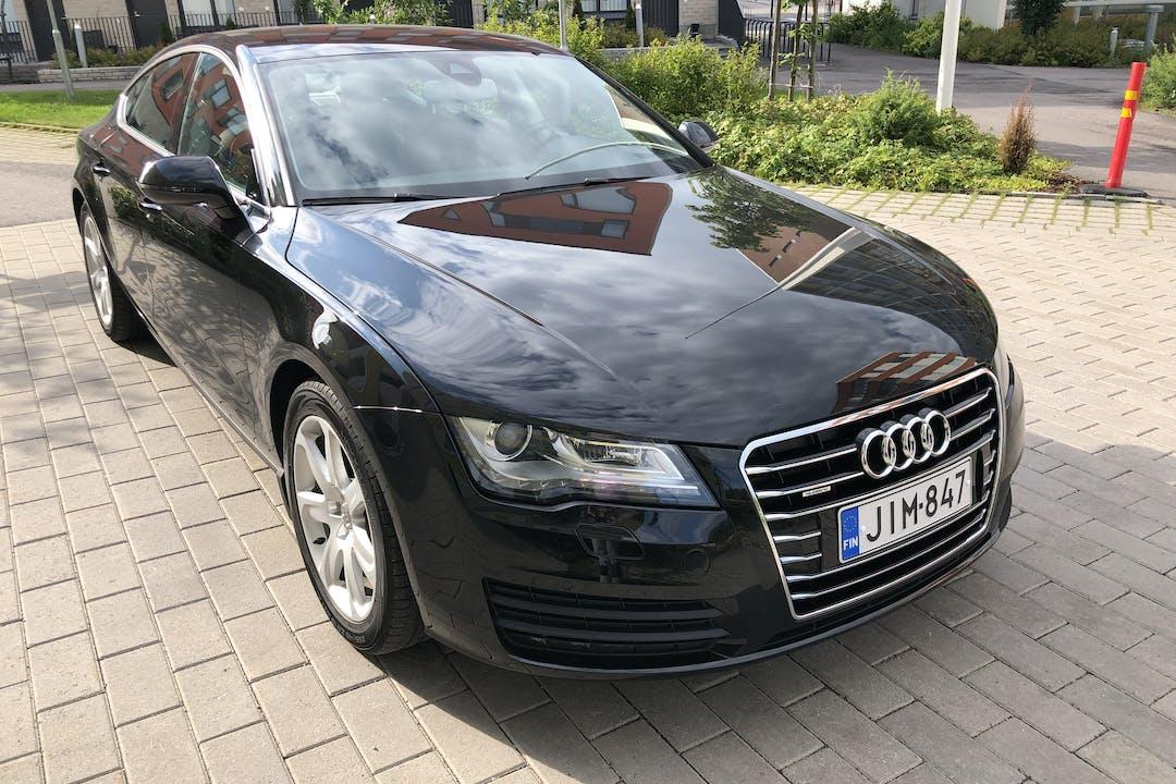 Audi A7n halpa vuokraus Bluetoothn kanssa lähellä 01700 Vantaa.