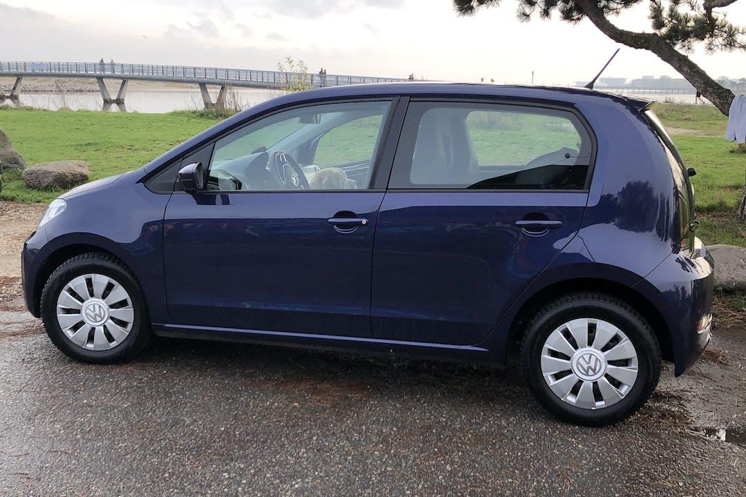 Billig billeje af Volkswagen UP! med Isofix beslag nær 2300 København.
