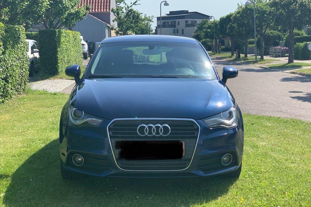 Billig billeje af Audi A1 med GPS nær 2500 København.