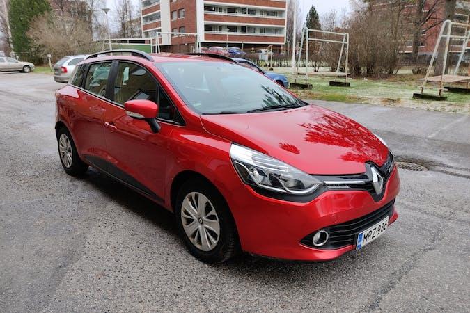 Renault Clion halpa vuokraus GPSn kanssa lähellä 01340 Vantaa.