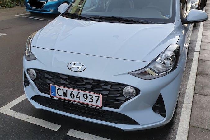 Billig billeje af Hyundai i10 med Bluetooth nær 2450 København.