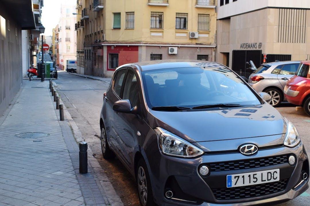 Alquiler barato de Hyundai I10 cerca de 28028 Madrid.