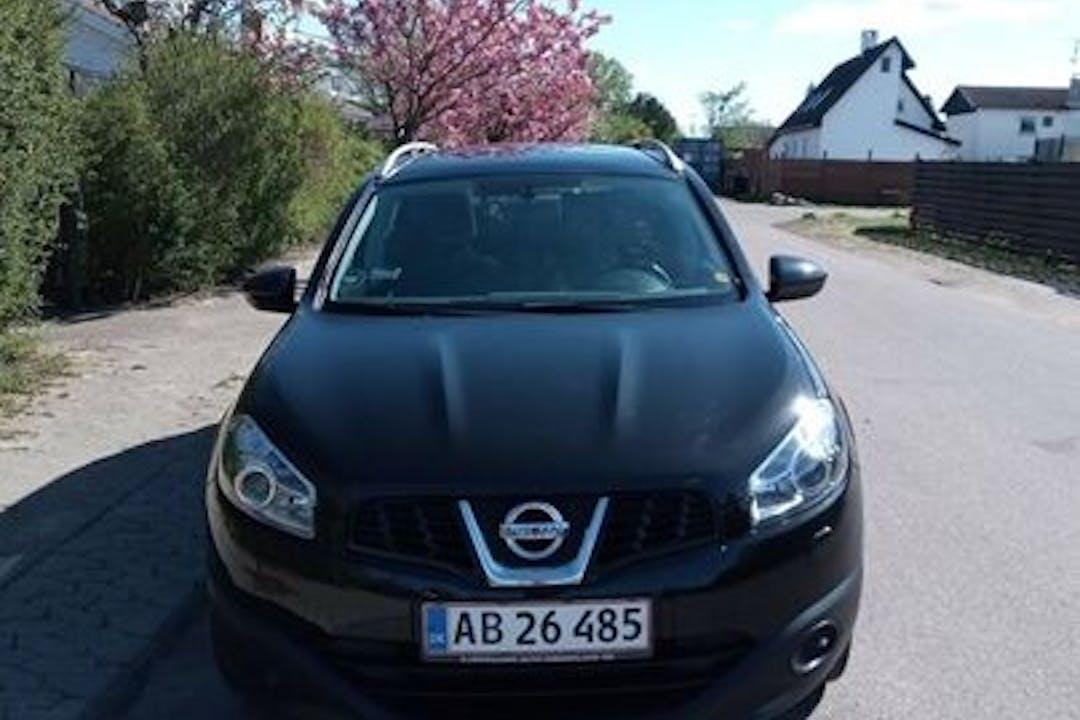 Billig billeje af Nissan Qashqai+2 med Anhængertræk nær 2860 Søborg.