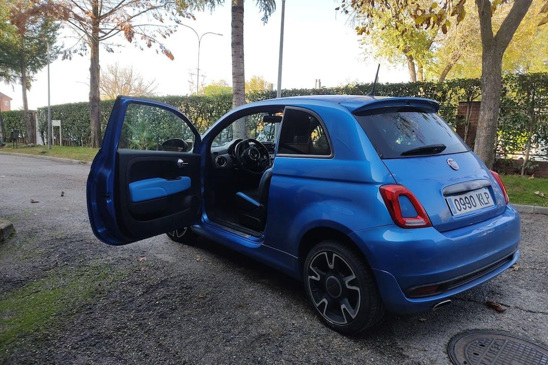 Alquiler barato de Fiat 500 cerca de 28231 Las Rozas de Madrid.