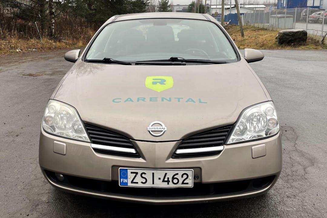 Nissan Primeran halpa vuokraus Vetokoukkun kanssa lähellä 40320 Jyväskylä.