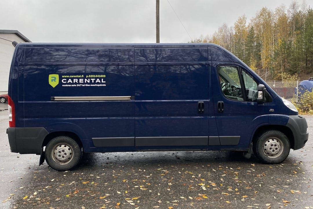 Fiat Ducaton halpa vuokraus Vetokoukkun kanssa lähellä 40520 Jyväskylä.