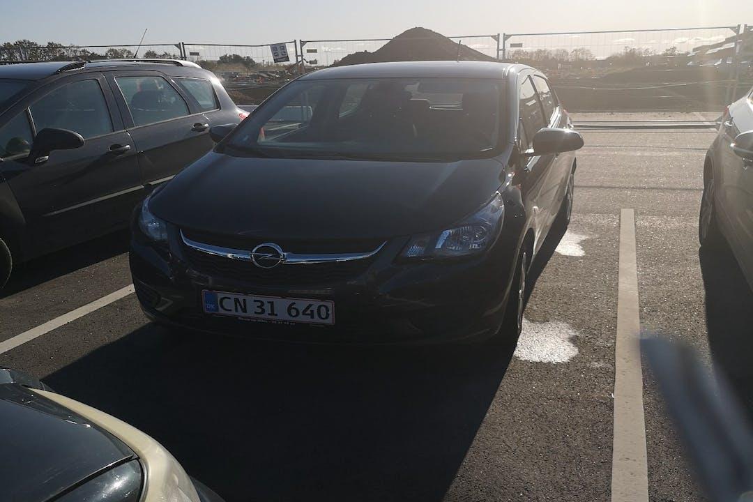 Billig billeje af Opel Karl nær 7442 Engesvang.
