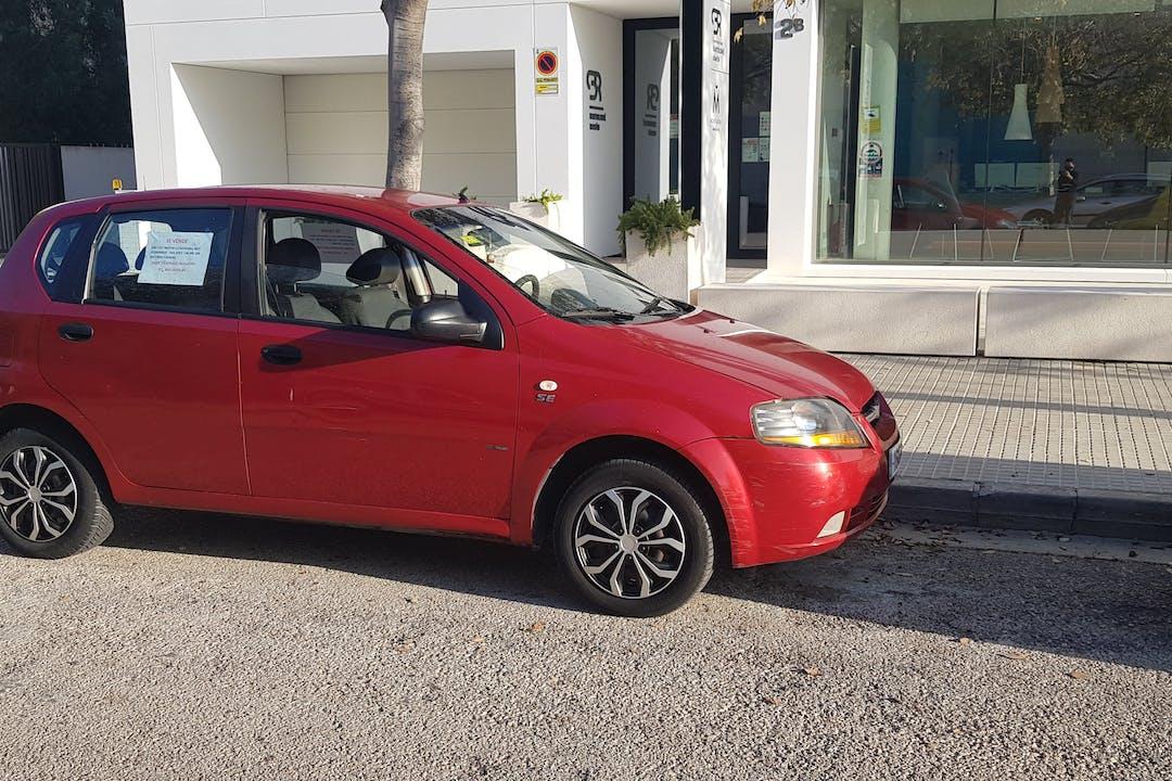 Alquiler barato de Chevrolet-Gm Kalos cerca de 07008 Palma.