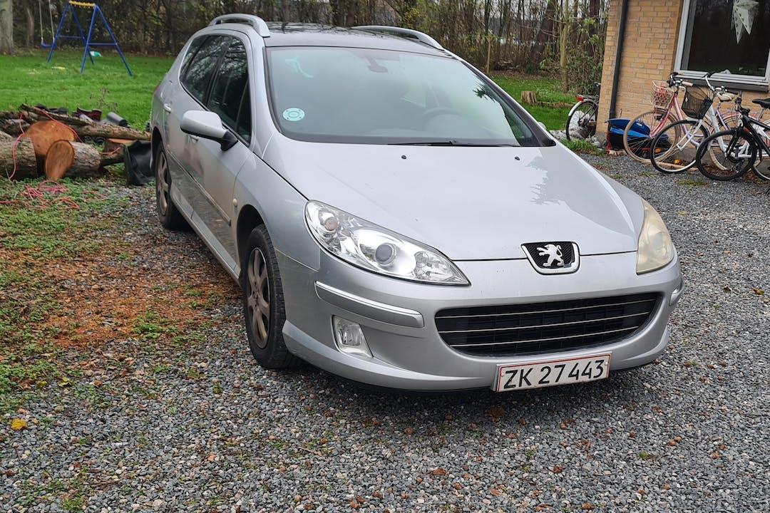 Billig billeje af Peugeot 407 SW nær 4652 Hårlev.