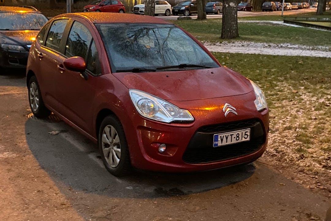 Citroën C3n halpa vuokraus GPSn kanssa lähellä 02600 Espoo.
