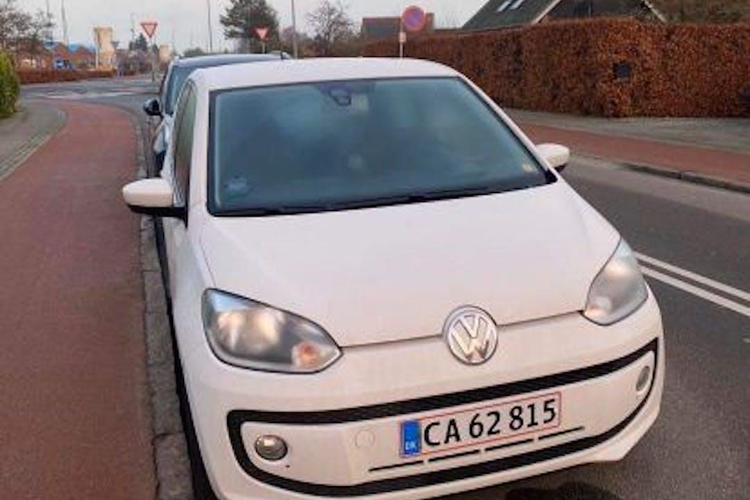 Billig billeje af Volkswagen UP! med GPS nær 8300 Odder.
