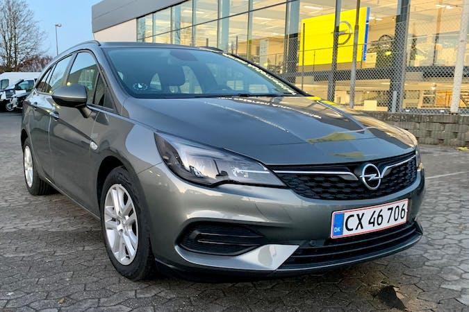 Billig billeje af Opel Astra med GPS nær 8200 Aarhus.