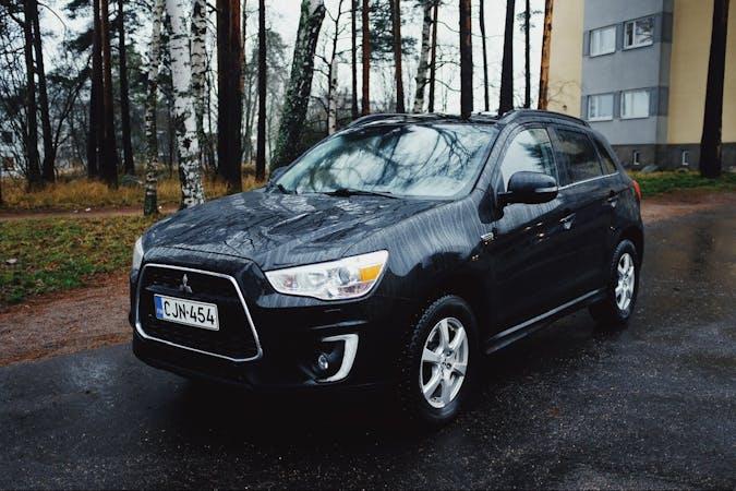 Mitsubishi ASXn halpa vuokraus Isofix-kiinnikkeetn kanssa lähellä 00270 Helsinki.