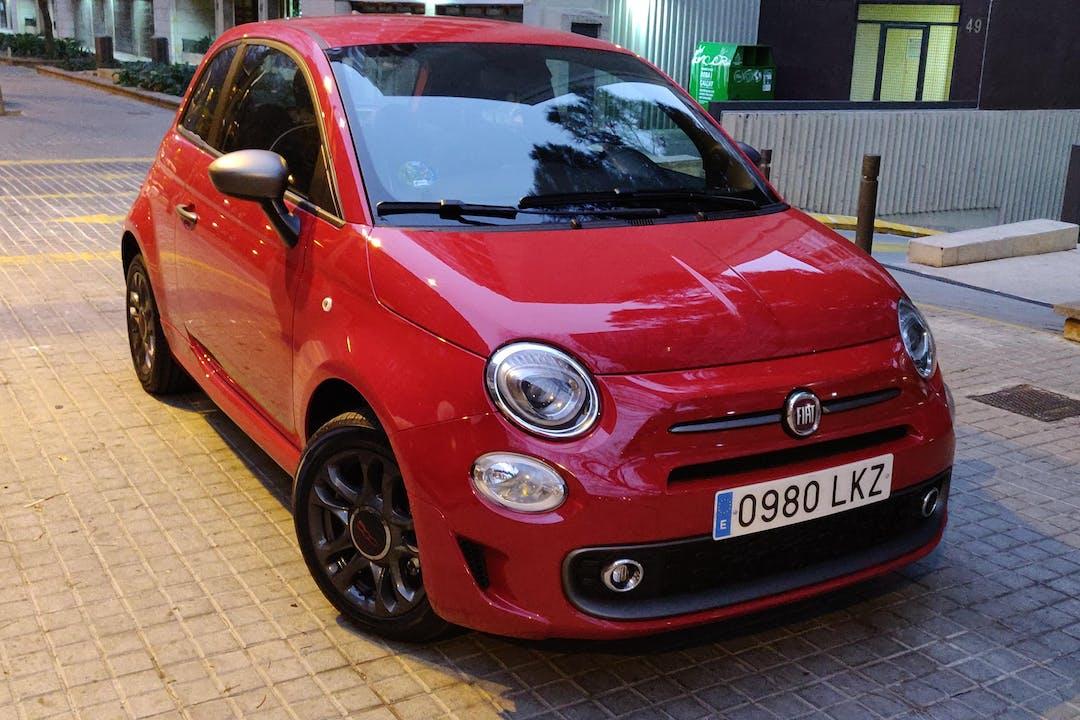 Alquiler barato de Fiat 500 cerca de 08015 Barcelona.