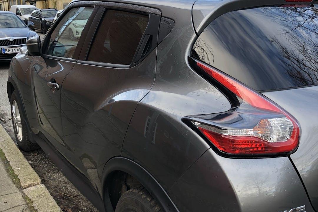 Billig billeje af Nissan Juke med GPS nær 8900 Randers.