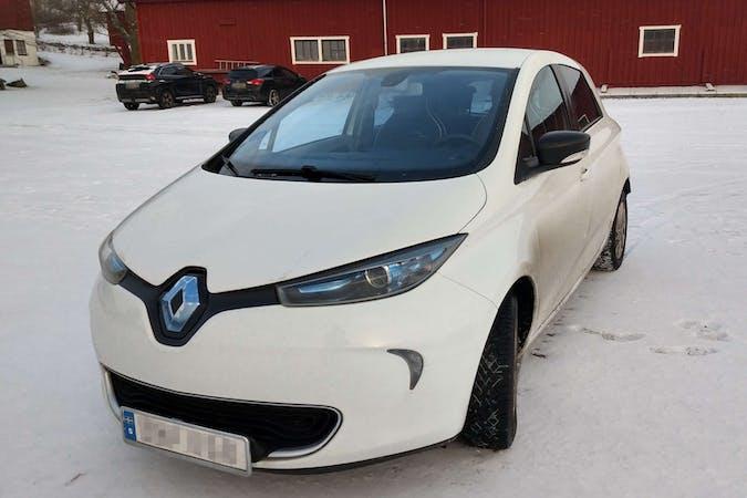 Billig biluthyrning av Renault Zoe med GPS i närheten av 756 43 Ulleråker.