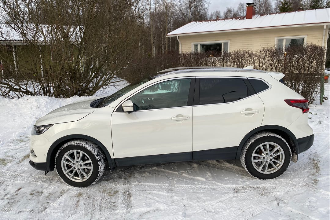 Nissan Qashqain lalpa vuokraus lähellä 01520 Vantaa.