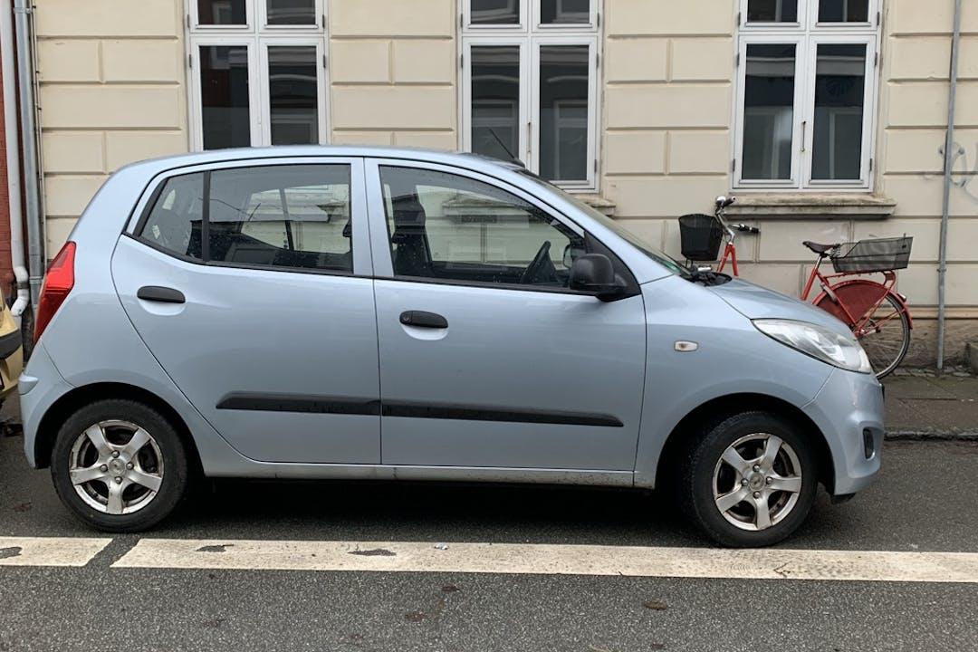 Billig billeje af Hyundai i10 med Isofix beslag nær 5000 Odense.