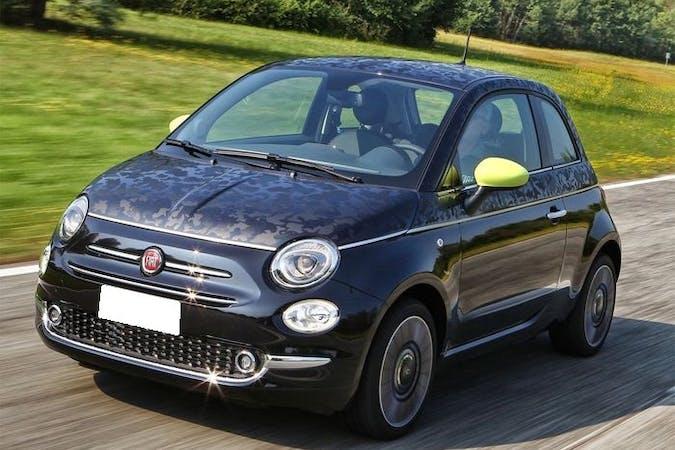Alquiler barato de Fiat 500 con equipamiento GPS cerca de 46018 València.