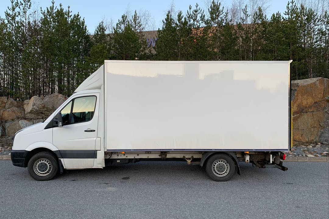 Volkswagen Craftern lalpa vuokraus lähellä 65300 Vaasa.